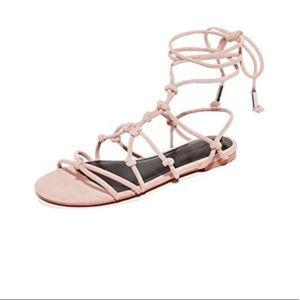 REBECCA MINKOFF sandals (color: nude)